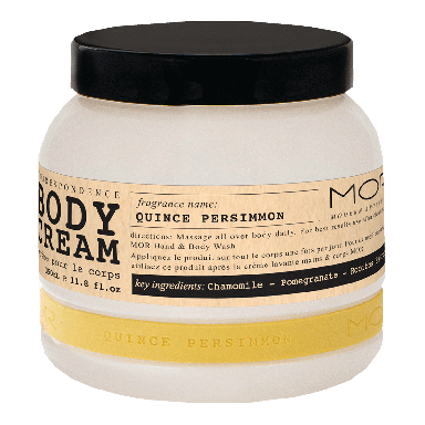 MOR Correspondence Quince Persimmon Body Cream 350ml