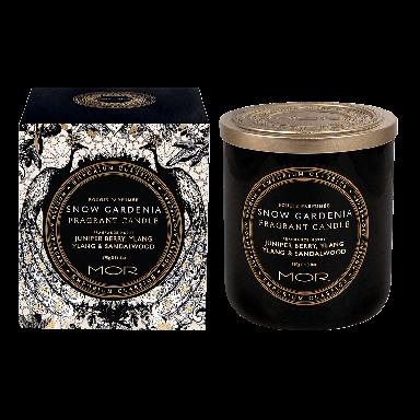 MOR Emporium Classics Snow Gardenia Fragrant Candle 390g
