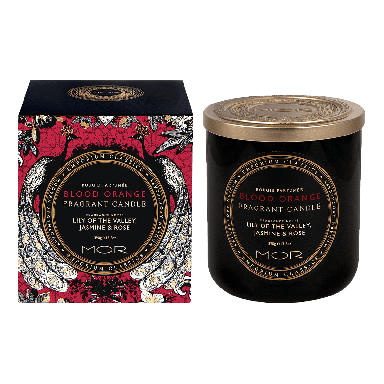 MOR Emporium Fragrant Blood Orange Candle 390g