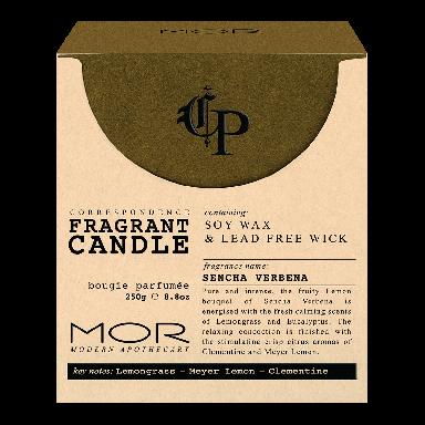 MOR Correspondence Sencha Verbena Fragrant Candle 250g