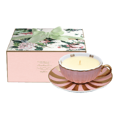 MOR Marshmallow Fragrant Tea Cup Candle 165g