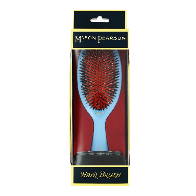 Mason Pearson Junior Bristle & Nylon BN2 Blue Hairbrush