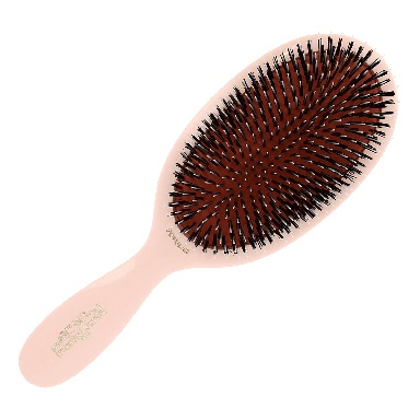Mason Pearson BN1 Popular Bristle & Nylon Pink Hairbrush