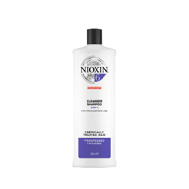Nioxin System 6 Cleanser Shampoo for Chemically 1000ml