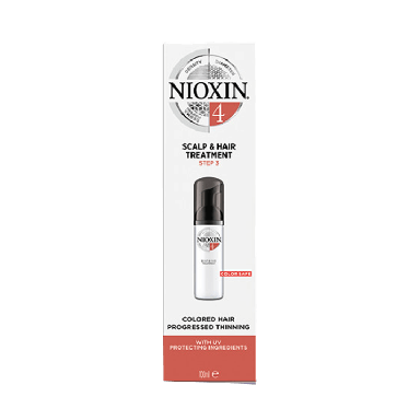Nioxin System 4 Scalp & Hair Treatment for Colored Hair with Progressed Thinning 100ml