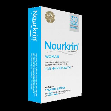 Nourkrin Woman Hair Growth Tablets (60)