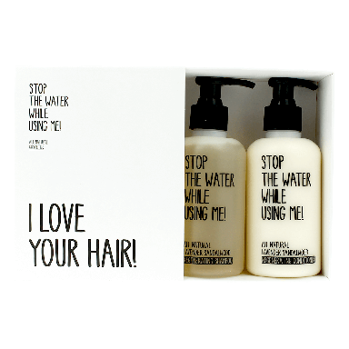 Stop The Water While Using Me! Lavender Sandalwood Hair Care Kit