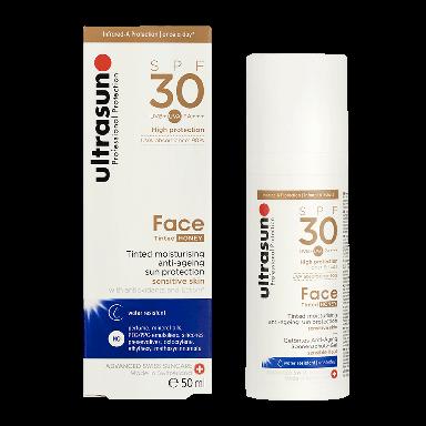 Ultrasun Face SPF30+ Tinted Honey 50ml