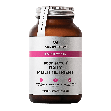 Wild Nutrition Women's Food-Grown® Daily Multi Nutrient (60 Capsules)