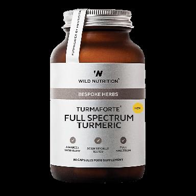 Wild Nutrition TurmaForte® Full Spectrum Turmeric (60 Capsules)