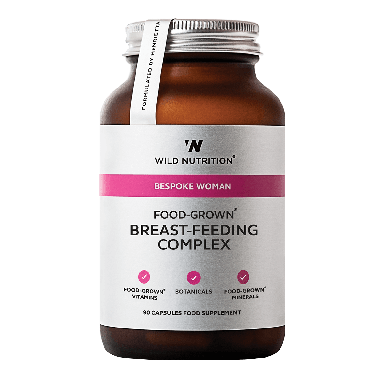 Wild Nutrition Food-Grown® Breast-Feeding Complex (90 Capsules)