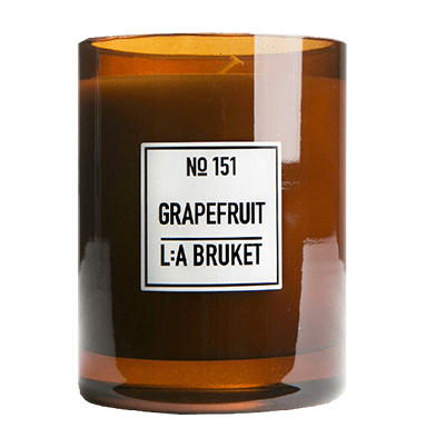 L:A BRUKET Grapefruit Scented Candle 260g