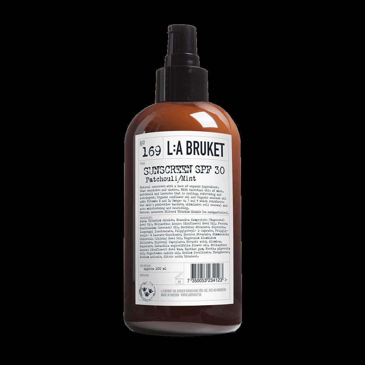 L:A BRUKET Sunscreen SPF 30 200ml