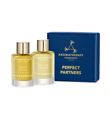 Aromatherapy Associates Perfect Partners Bath and Shower Oils 2x7.5ml
