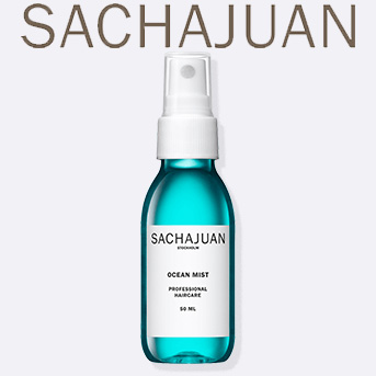 Buy any two full size SACHAJUAN products and get a free travel size SACHAJUAN Ocean Mist.