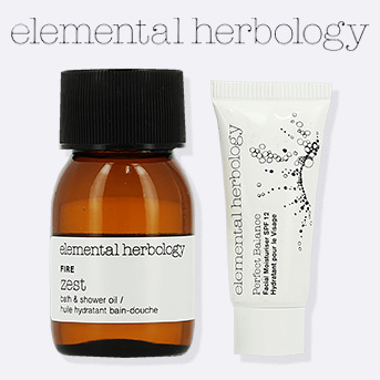 Buy any Elemental Herbology product and get a free Elemental Herbology deluxe gift.