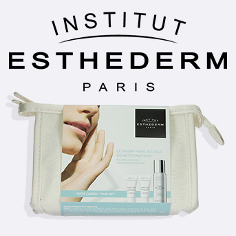 Buy 2 or more on Institut Esthederm and receive a complimentary travel skin care set.
