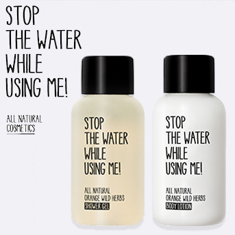 buy two stop the water products over £10 each and receive a free travel duo set