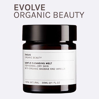 buy any EVOLVE product and receive a free Gentle Cleansing Melt 30ml