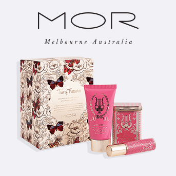 spend £35 pounds or more and receive a free MOR trio of treasures kit